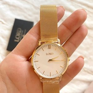 Lord Timepieces Gold Watch